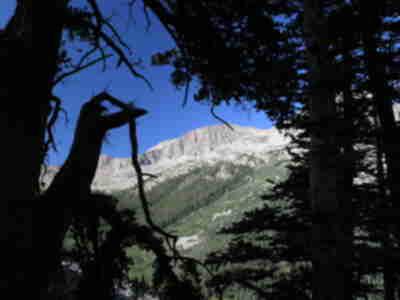 A ridgeline south of Huron Peak