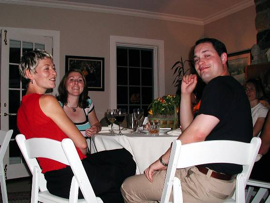 Julie, Erica, and Shawn