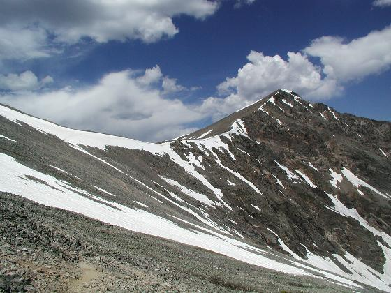 Torreys Peak, from the trail