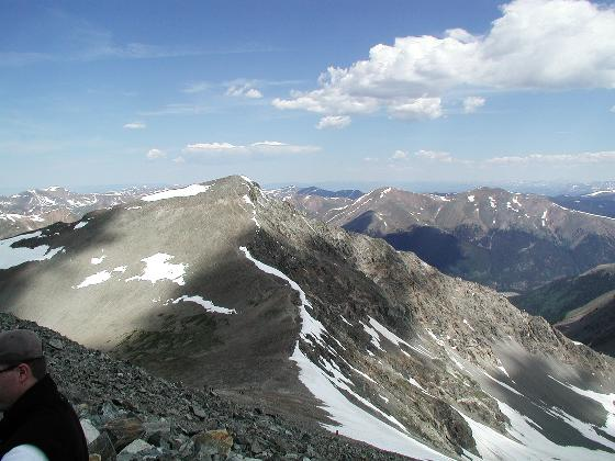 Torreys Peak, seen from Greys Peak