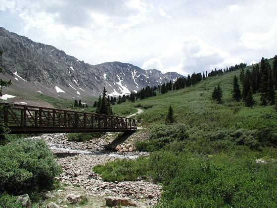 Grays Peak Trailhead (back near Georgetown, CO)