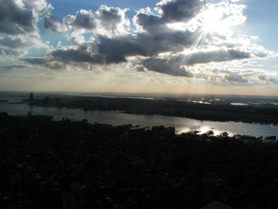 The Hudson River (from the Empire State Building)