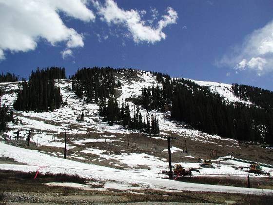 The closed runs at A-Basin