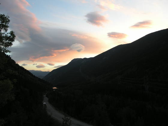 Sunrise from Guanella Pass