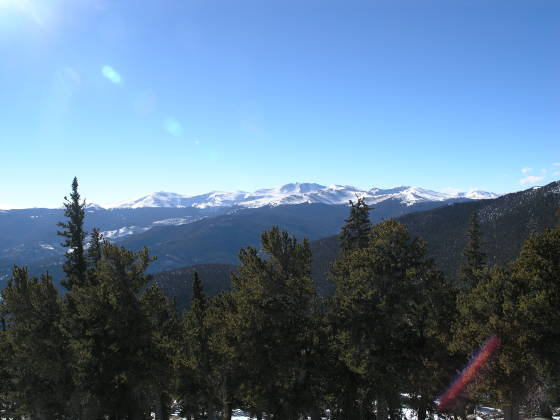 A great view of Mt. Evans