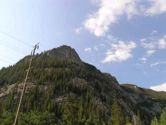 Royal Mountain, seen from the parking lot