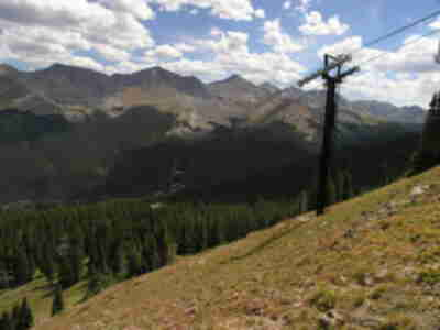 Looking across the Sawtooth Run at Copper