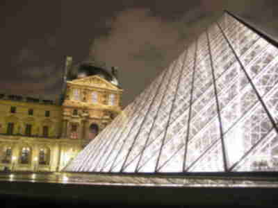 More of the Louvre's pyramid