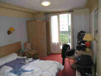 Our hotel room in Hotel Little Regina