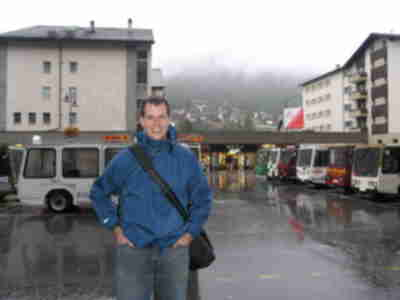 Brian, just after arriving in Zermatt