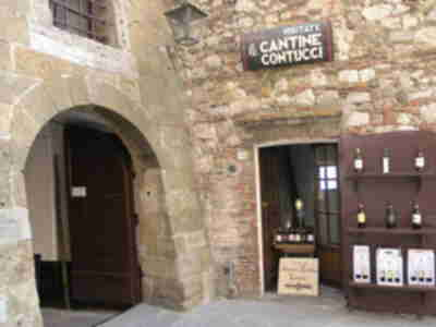 The Contucci cellars in Montepulciano