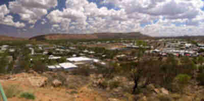 The western half of Alice Springs