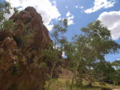 Jesse Gap, east of Alice Springs