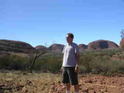Alex in the Valley of the Winds (The Olgas)