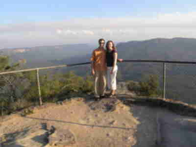 Brian and Lisa at Sublime Point
