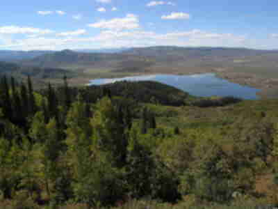 Stagecoach Reservoir off of Rabbit Ears Pass