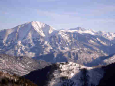 Mt. Sopris, Capitol Peak, and Snowmass Mountain