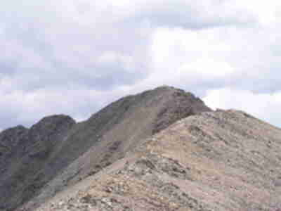 The summit of Missouri, with people visible on it