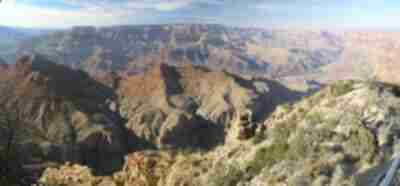 View from Desert View on the east side of the Grand Canyon