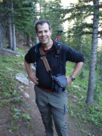 Brian, also prepared to hike
