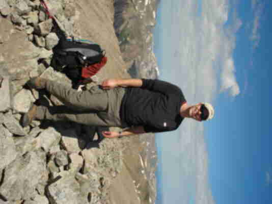 Brian on the summit of Tabeguache - his 30th 14er!