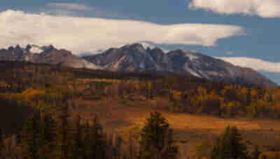 Fall in the Gore Range