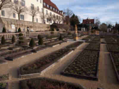 Gardens at the old Leonberg castle