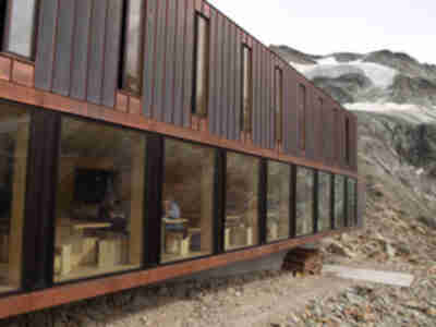The new expansion of Cabane de Moiry