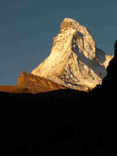 The Matterhorn - just like at Disneyland