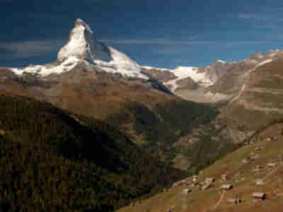 The Matterhorn from Sunnegga Paradise above Zermatt