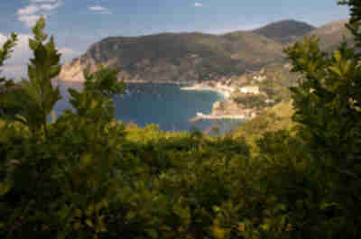 Looking back on Monterosso al Mare
