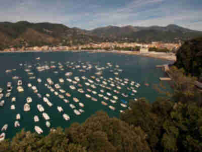 The main beach of Sestri Levante