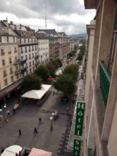 Geneva...a fairly dull city especially when cloudy