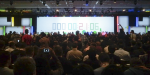 The Google I/O Countdown clock (which matched the website) to the kickoff