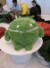 A large plush Droid that all returning Google I/O conference goers received