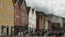 The historic old town of Bryggen