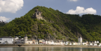 Sankt Goarshausen, across the Rhine