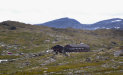Finally, 2 hours after leaving the glacier, we arrive at Sognefjellshytta