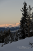 Sunset on Mount Sherman, with Leadville below