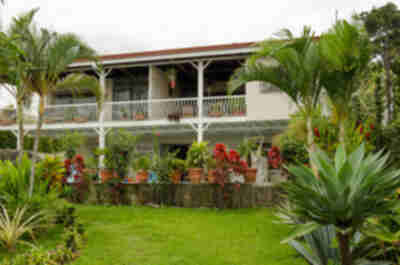 Our lodging in Alajuela