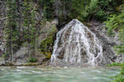 Another Maligne Canyon waterfall